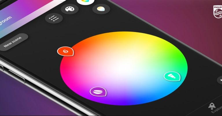 Hueblog: Philips Hue 4.0 improves placement of lamps in the entertainment area