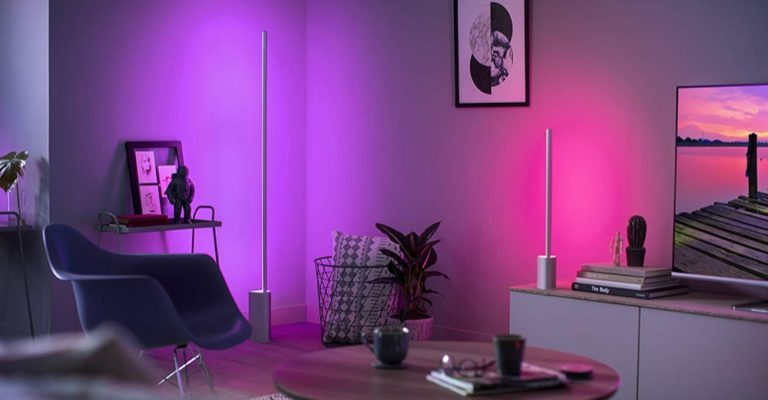 Hueblog: Even more gradient: Philips Hue also makes the Signe colourful