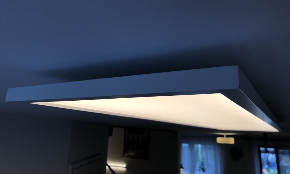 Hueblog: Unboxed and installed: The Philips Hue Aurelle LED panel