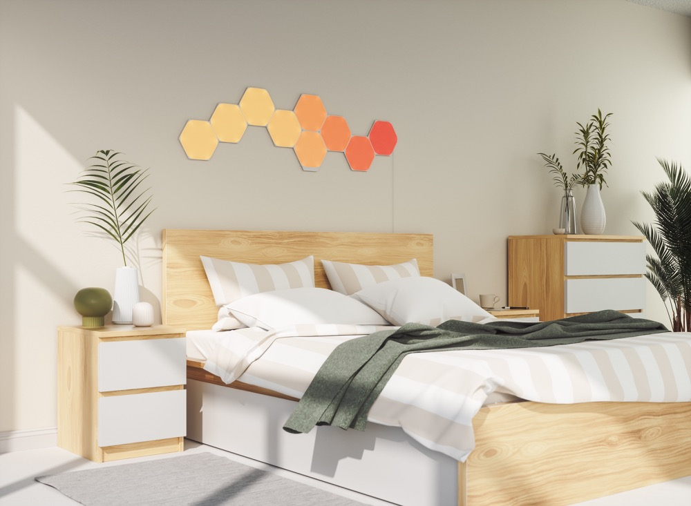 Hueblog: Nanoleaf Unified Hexagons: new LED panels coming in May