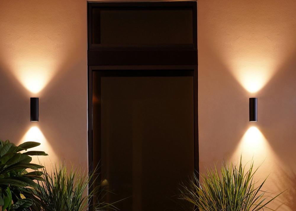 Hueblog: Hue Appear: Outdoor wall light coming soon in stainless steel look