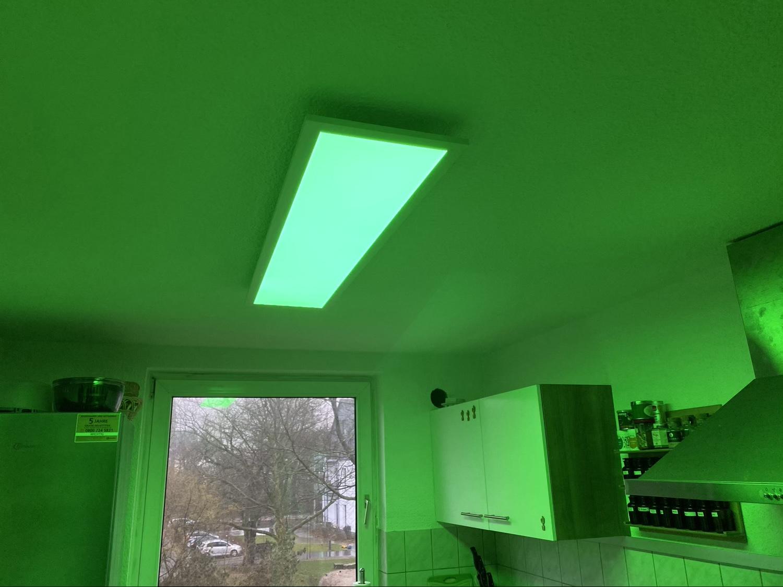 Hueblog: Paulmann LED Panel Amaris reviewed: Ceiling lamp with colour option