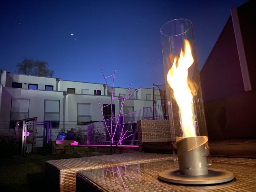Hueblog: Höfats Spin provides a cosy lighting atmosphere