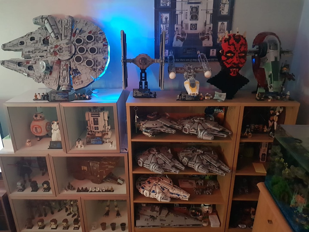 Hueblog: Show your Hue: Light strip in the Millennium Falcon