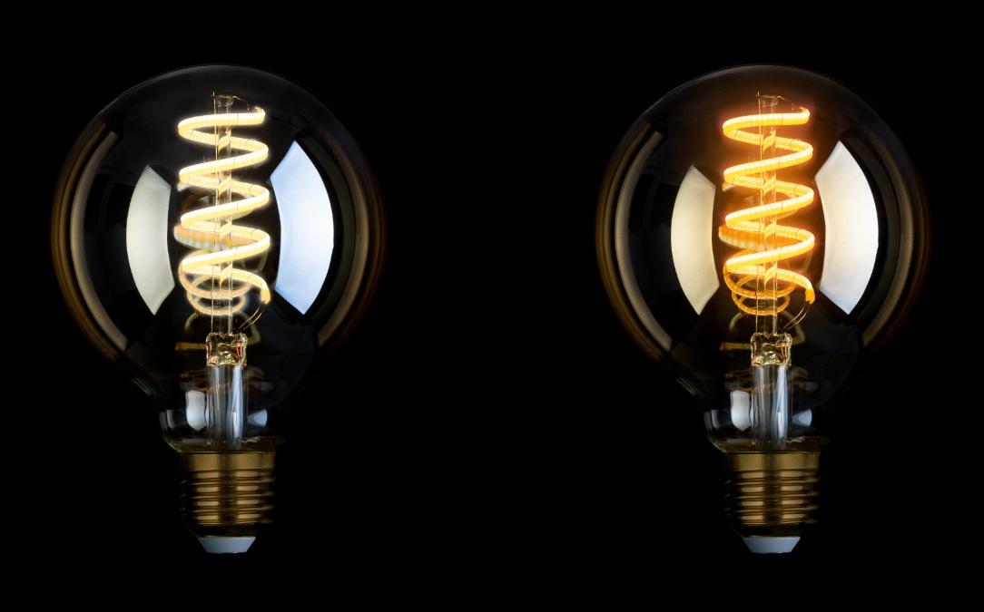 Hueblog: Icasa introduces new filament lamps with adjustable color temperature