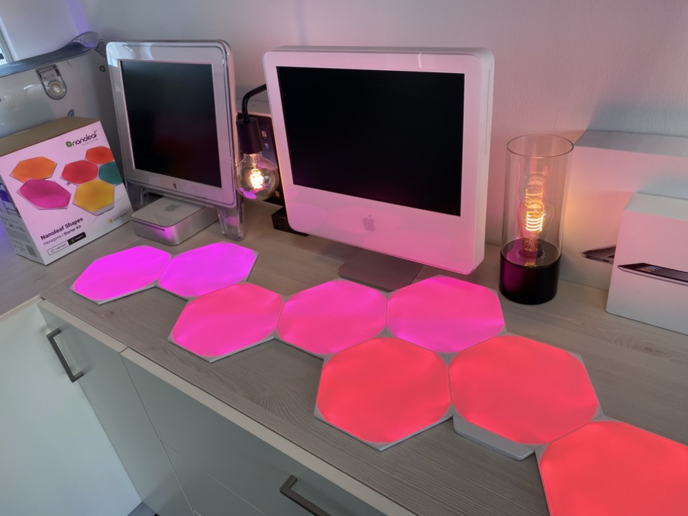 Hueblog: First impression of the new Nanoleaf Shapes: improved in almost all points