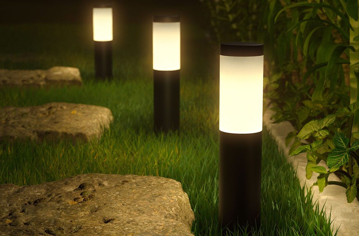 Hueblog: Innr OPL 130 C: First impressions of the new outdoor pedestal luminaire