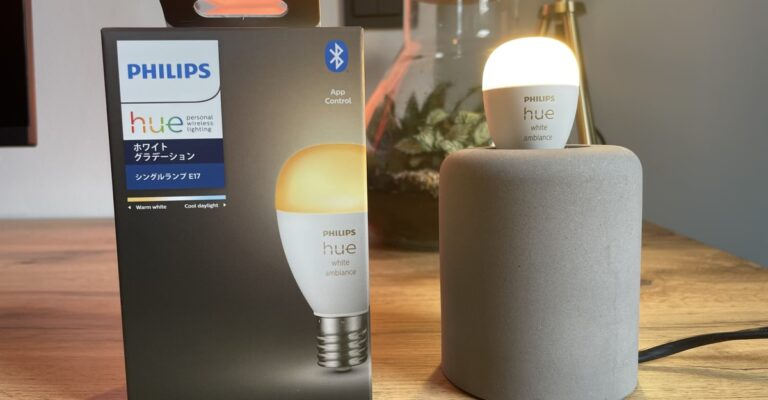 Hueblog: Philips Hue E14 Luster: First impressions of the White Ambiance model