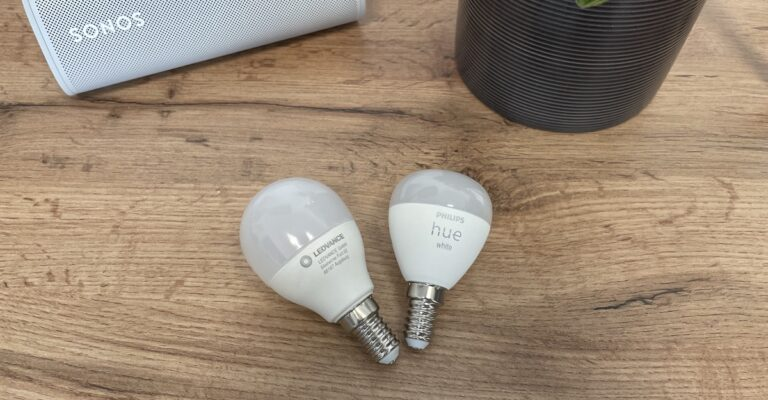 Hueblog: Ledvance already offers a small E14 lamp with White Ambiance technology