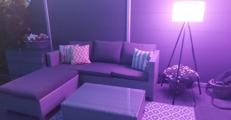 Hueblog: Tint Khaya: Stylish outdoor floor lamp by Müller-Licht