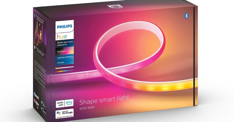 Hueblog: This is the Philips Hue Gradient Lightstrip Ambiance