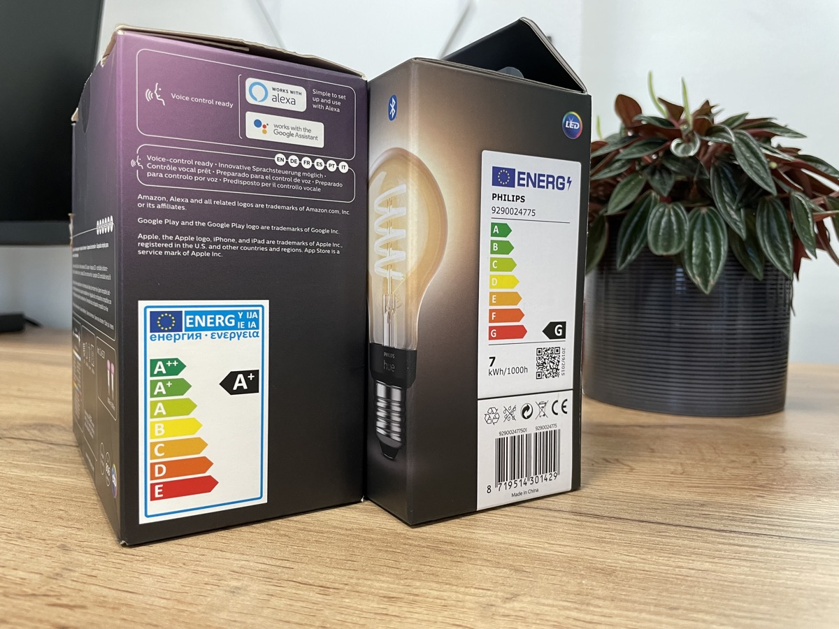 Hueblog: Why do new Philips Hue lamps have such a poor energy label?